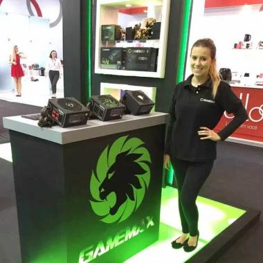 GameMax Appeared in Brazil Exhibition