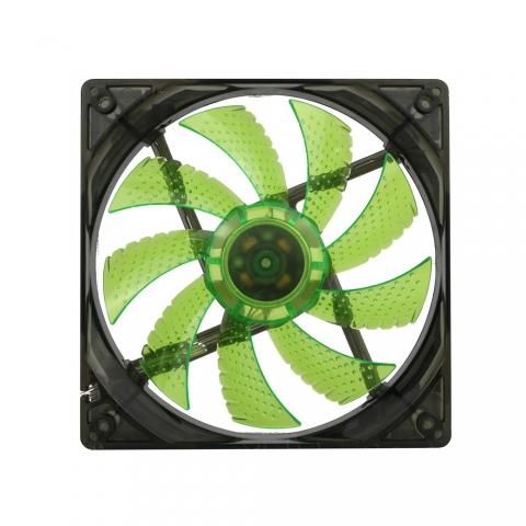 LED4灯绿色风扇