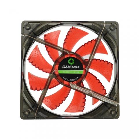 LED4灯红色风扇