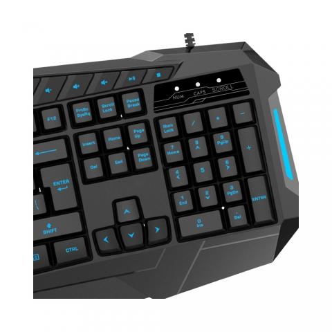 K196A字发光键盘