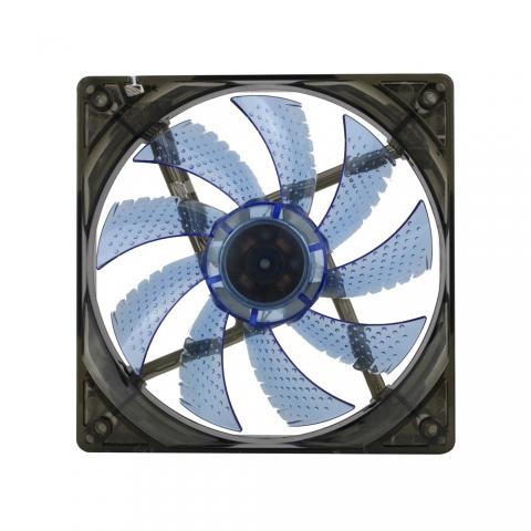 LED4灯蓝色风扇