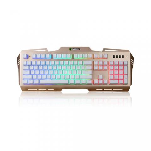 6604彩虹版机械手感键盘